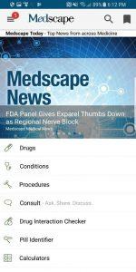 اسکرین شات اپلیکیشن پزشکی مد اسکیپ