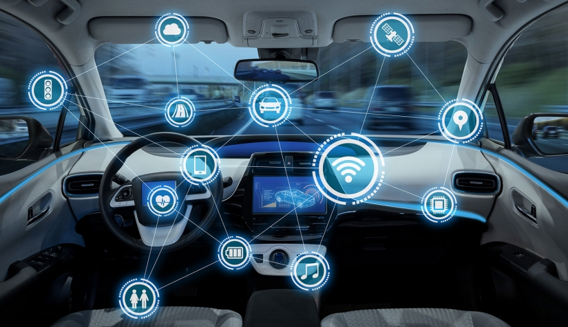 سیستم ارتباطی لوازم الکترونیک خودرو با هوش مصنوعی و فناوری ابری