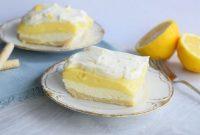 آموزش و طرز تهیه کیک ترش(لیمو)